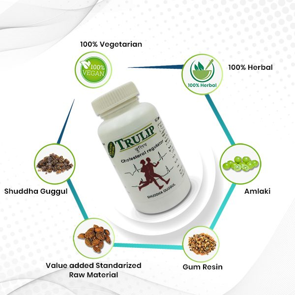 natural heart dieseases and cholesterol regulator trulip benefits